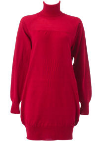 Dorothy Perkins Red Roll Neck Dress