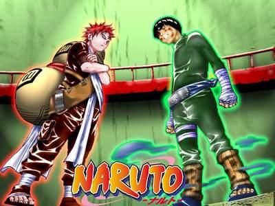 Gaara vs Rock Lee (la mejor pelea de Naruto)