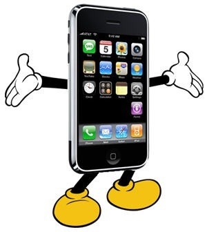 iphone-mickey-mouse