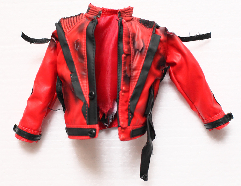 Hot Toys Michael Jackson MJ Thriller Burnt Jacket 1 6 New